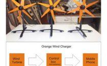 UK Orange e l'energia eolica ricarica cellulare!