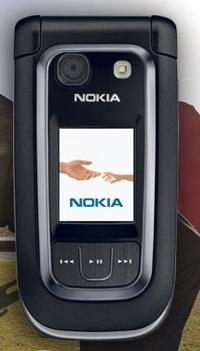 Nokia 6267: clamshell completo