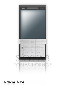 Nokia N74 un nuovo concept