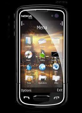 Nokia N98: concept iphone style