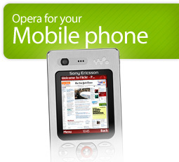 Opera Mini 4 Beta Mobile download