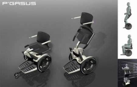 Pegasus la sedia a rotelle intelligente