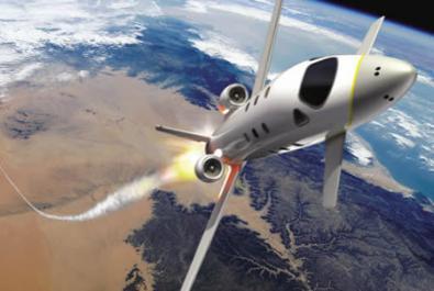 EADS e l'aereo per turismo spaziale