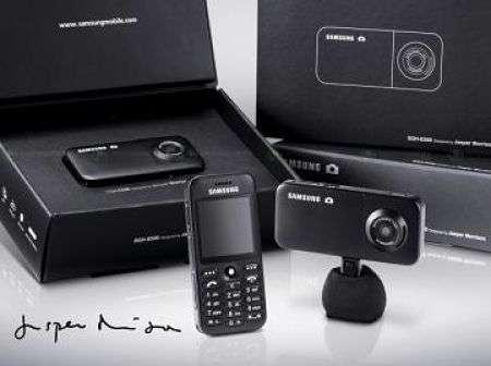 Samsung SGH-E590: atipico