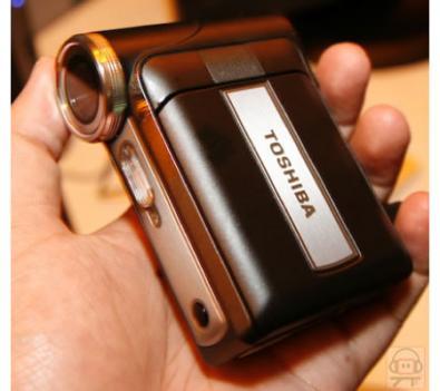 Toshiba Camileo Pro: 7 megapixel