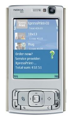 XpressPrint: stampa direttamente dal Nokia Nseries