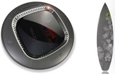 Lenart Studios: tavola da Surf con GPS e LCD