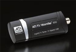 HDTV sul notebook con ATI TV Wonder 600 USB