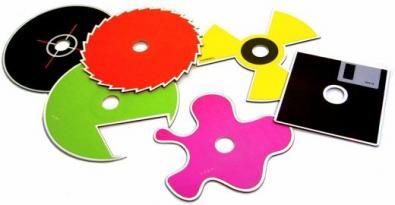 Cd di tutte le forme e colori