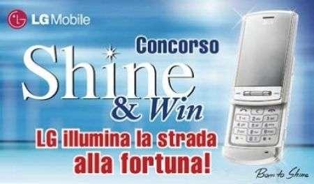 Shine&Win: vinci con LG Ke790