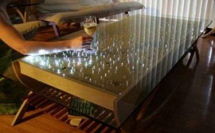 Tavolo a LED Interattivo