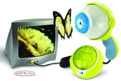 Eyeclops la pistola microscopio: vedi sulla tv