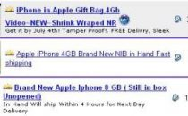 Primi iPhone in vendita su eBay