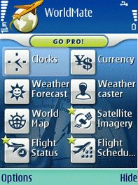 WorldMate Mobile Travel Service gratis ai Nokia S60