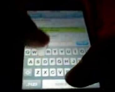 iPhone: la tastiera virtuale e gli sms