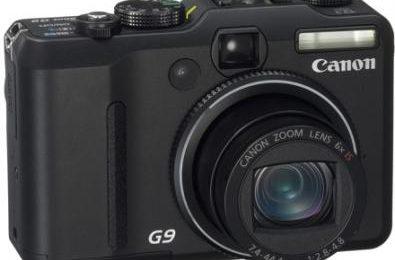 Canon PowerShot G9: 12.1 megapixel