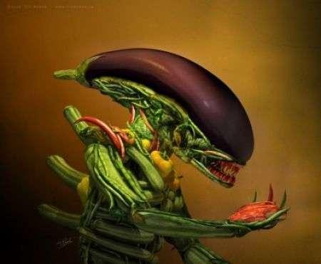 Arcimboldo Alien