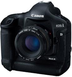 Canon EOS 1Ds Mark III da 21.1 megapixel!