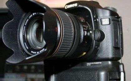 Canon EOS 40D scheda tecnica