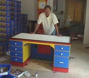 La scrivania di LEGO