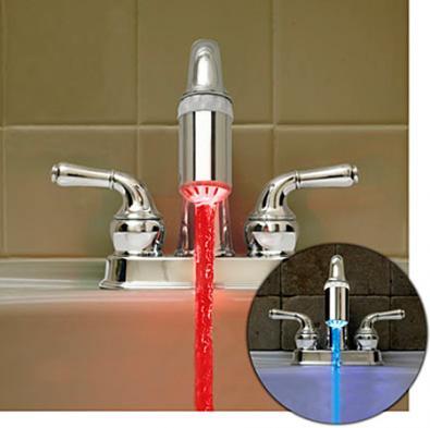 Led Faucet: colora l'acqua del rubinetto