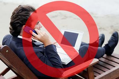 Cellulari vietati ai Caraibi!