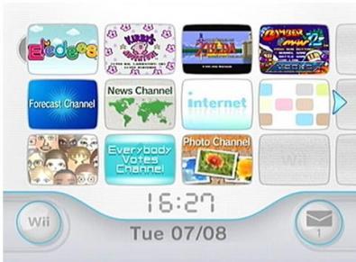 Nintendo Wii Firmware upgrade 3.0u