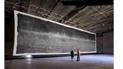 La foto e la fotocamera più grandi del mondo