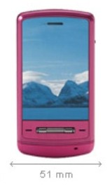 LG Shine Hot Pink: rosa lucente!