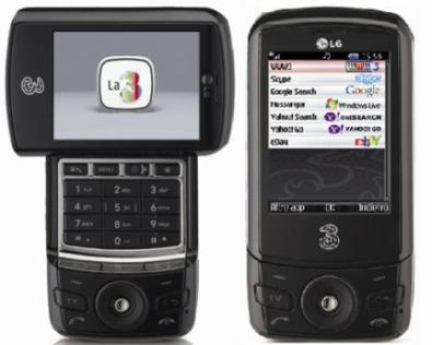 LG U960 da 3 (tre) con MobileTV