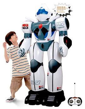 Robot gigante parlante e gonfiabile!
