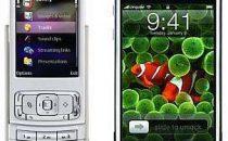 Nokia N95 versus iPhone