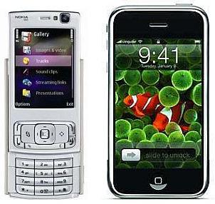 Nokia N95 versus iPhone