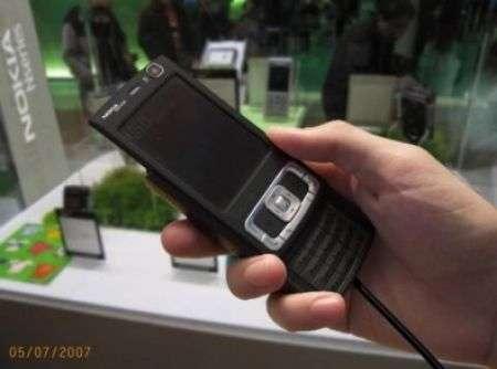Nokia N95 8GB video