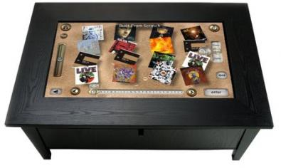 ROSIE Coffee Table Touchpanel Controller: Surface Apple!