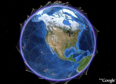 Google: un satellite e 54 paesi in più