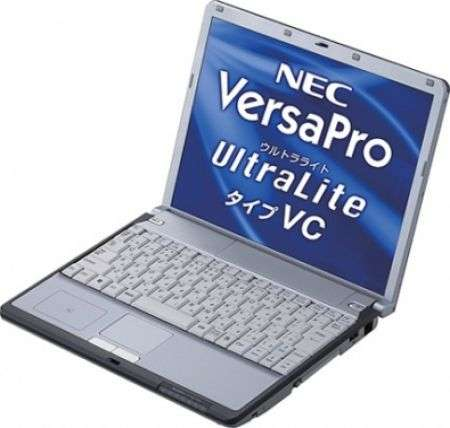 NEC VersaPro VY10A/C-4, 14.5 ore di autonomia