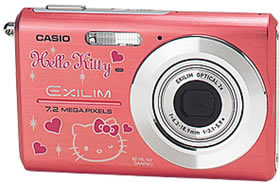 Hello Kitty Casio Exilim 720