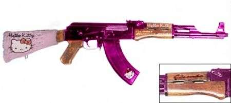 Mitra Hello Kitty AK-47!