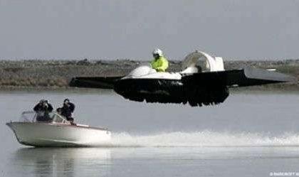 Hovercraft volante
