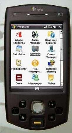HTC P6500 con GPS