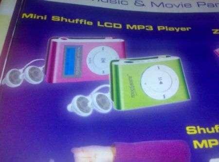 Clone Shuffle con LCD