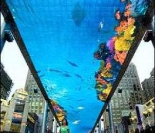 Il più grande schermo LCD del mondo: 250 x 30 metri!