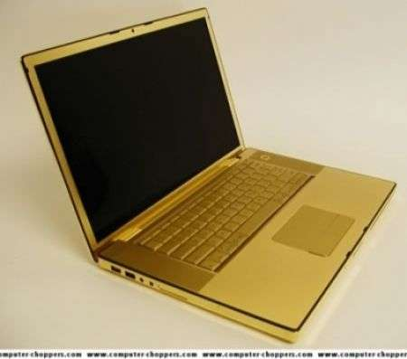 iPhone e Macbook Pro d'oro
