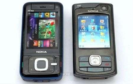 Confronto tra Nokia N80 e N81