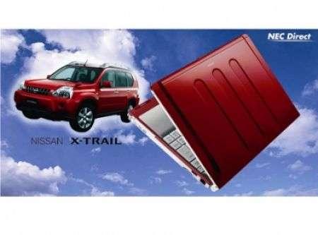 Nissan XTrail: ecco il notebook NEC