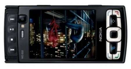 Tim Nokia N95 8GB. E Spiderman 3