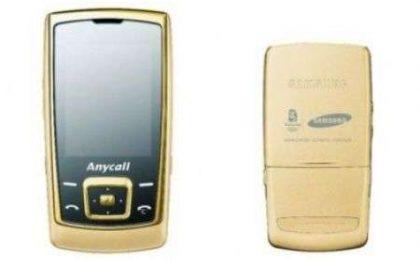 Olimpiadi 2008 Pechino: Samsung E848 Oro