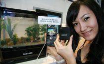 Samsung: cellulari ad acqua nel 2010