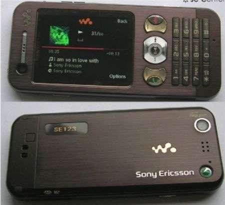 Sony Ericsson W890i scheda tecnica